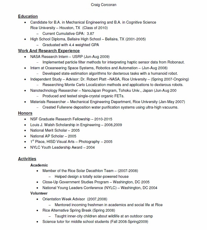 district attorney intern resume